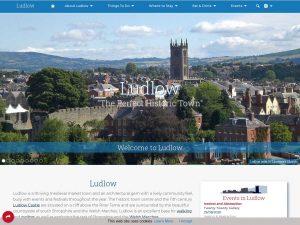 Ludlow website screenshot