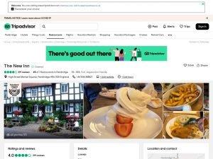 Tripadvisor The New Inn website screenshot